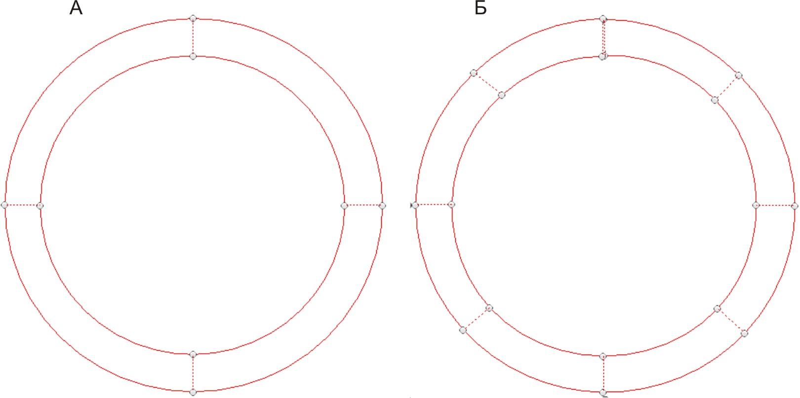 как нарисовать круг