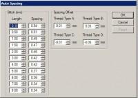 панель настройки изменения плотности в wilcom