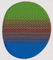 автоматическая градиентная заливка в 3 цвета