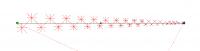 градиентное линейное убывание вдоль траектории