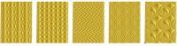 примеры узорных заливок в машинной вышивке