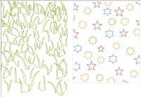 примеры текстур в машинной вышивке