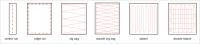 основные типы каркасов в машиной вышивке