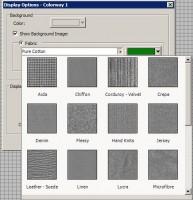 настройка текстуры фона  truesizer 2.0