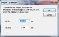 калибровка размера экрана  truesizer 2.0