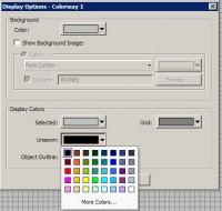 цвет не отшитой части при симуляции  truesizer 2.0