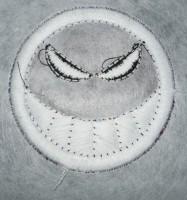 вышивка с пуфом шаг 15