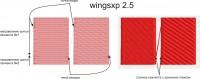 нахлест сегментов в wingsxp