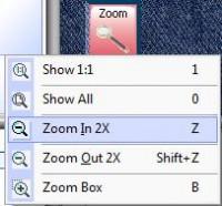 меню zoom в explorations