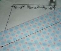 квилт на вышивальной машине шаг 09