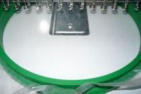 вышивка на плотной водорастворимой пленке