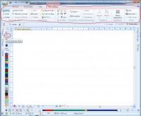 панель инструментов для редактирования стежков