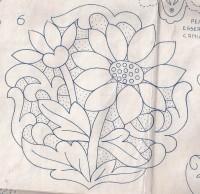 исходный рисунок для розетки-ришелье