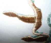машинная вышивка шнуром шаг 03-01