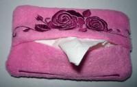 вышитая упаковка для носовых платков