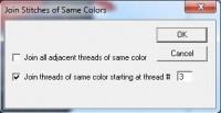 SewWhat-Pro объединение цветов