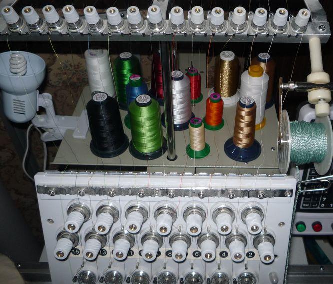регуляторы натяжения верхней нити вышивальной машины