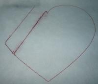 вышитое сердце-бонбоньерка шаг 02