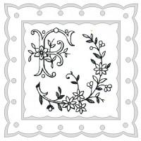 исходный рисунок для вышивки саше