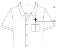 расположение машинной вышивки на изделии 09