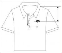 расположение машинной вышивки на изделии 10