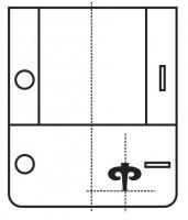 расположение машинной вышивки на изделии 12