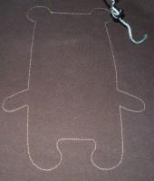 медведь-игрушка на вышивальной машине 04
