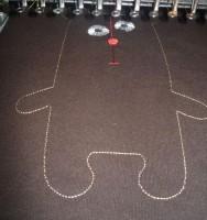 медведь-игрушка на вышивальной машине 05