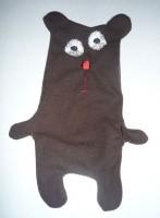 медведь-игрушка на вышивальной машине 08