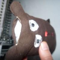 медведь-игрушка на вышивальной машине 09