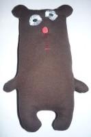 медведь-игрушка на вышивальной машине 10