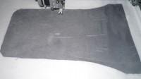 машинная вышивка подарочного мешка для бутылки шаг 06