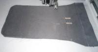 машинная вышивка подарочного мешка для бутылки шаг 10