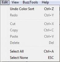 buzzword меню edit