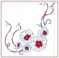 дизайн для машинной вышивки подушки