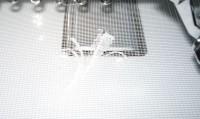 пробы машинной вышивки на сетке 09