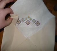 вышитая коробка оригами шаг 08