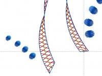 точка старта программы для стыковки дизайна машиной вышивки