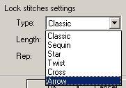 stitch era настройка закрепок в надписи