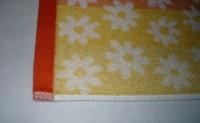 машинная вышивка аппликационной петельки на махровом полотенце шаг 04