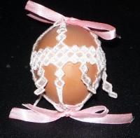 машинная вышивка одежки для пасхального яйца шаг 05