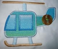 пример применения аппликации с легкой заливкой поверх ткани 02