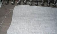 машинная вышивка набивного Тоторо Шаг 08