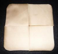 вышитая подставка-конверт одевающаяся на ножку бокала шаг 16