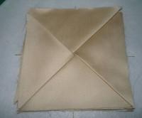 вышитая подставка-конверт одевающаяся на ножку бокала шаг 20