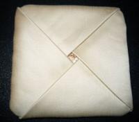 вышитая подставка-конверт одевающаяся на ножку бокала шаг 21-1