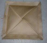 вышитая подставка-конверт одевающаяся на ножку бокала шаг 21