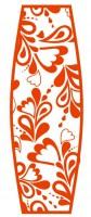 машинная вышивка корзинки для пасхального яйца шаг 10