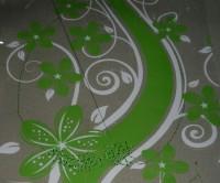 машинная вышивка на упаковочной пленке шаг 03