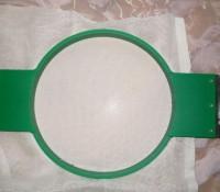 машинная вышивка на рыхлой ткани шаг 03